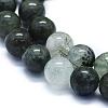 Natural Green Rutilated Quartz Beads StrandsG-E561-14-8mm-3