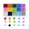 15 Colors 6/0 Glass Seed BeadsSEED-X0052-04-4mm-1
