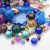 Mixed Glass Loose BeadsGLAA-X0003-1