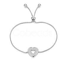 Environmental Electroplate Brass Slider Bracelets BJEW-EE0006-03P