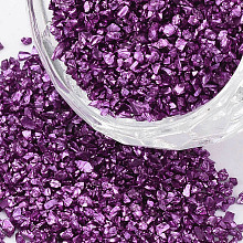FGB&reg Plated Glass Seed Beads SEED-S020-03C-09