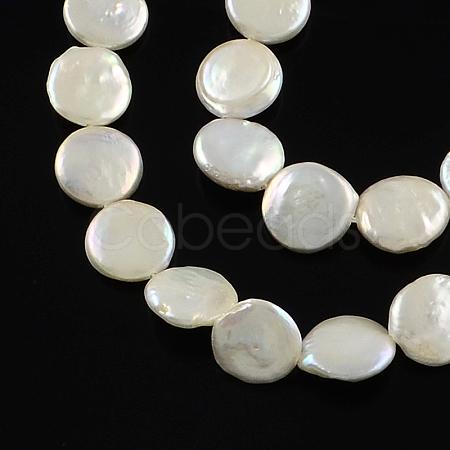 Natural Baroque Pearl Keshi Pearl Beads StrandsPEAR-Q004-21C-1
