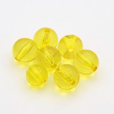 Transparent Acrylic BeadsTACR-P053-5mm-26M-1