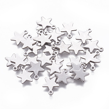 304 Stainless Steel Charms STAS-L234-069P