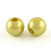 ABS Plastic Imitation Pearl BeadsX-MACR-R530-20mm-M-2