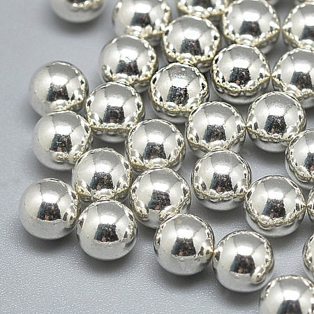 925 Sterling Silver Beads STER-T002-232S-12mm-1