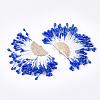 Polycotton(Polyester Cotton) Tassel Pendant DecorationsFIND-T041-19-2