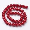 Natural Mashan Jade Round Beads StrandsG-D263-10mm-XS31-3