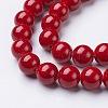 Natural Mashan Jade Round Beads StrandsG-D263-10mm-XS31-2