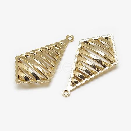 Brass PendantsKK-N200-058-1