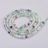 Natural Fluorite Beads StrandsG-F568-134-2mm-2