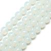Imitation Jade Glass Beads StrandsX-GR8mm69Y-1