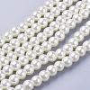 Glass Pearl Beads StrandsHY-6D-B02-1
