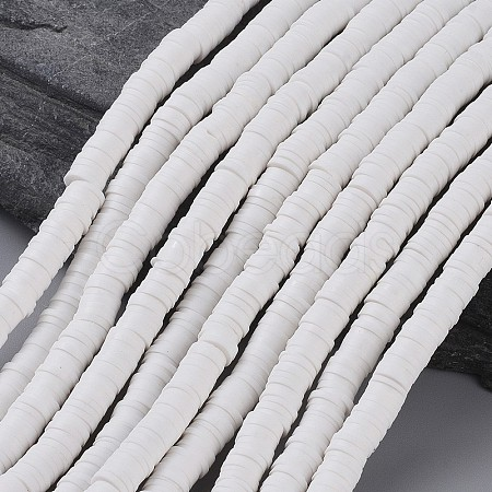 Eco-Friendly Handmade Polymer Clay BeadsX-CLAY-R067-6.0mm-17-1