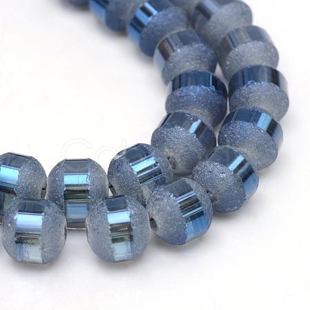 Electroplate Glass Bead StrandsEGLA-S131-8mm-A04-1